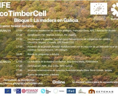 Programa Jornades LIFE EcoTimberCell